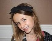 Retro 50's Style Bow Headband