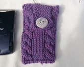 Hand Knitted cell phone cover