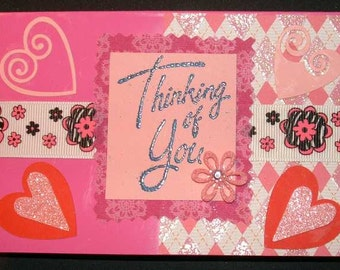 Thinking Of You With Love Set of 3 Cards