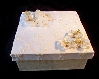 Handmade Wedding Keepsake Box