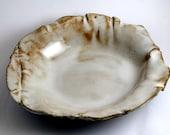 "Rustic ""Salt"" plates (set of two)"