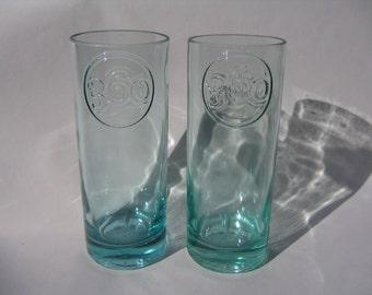 360 Vodka Recycled Bottle Vase - Set of 2