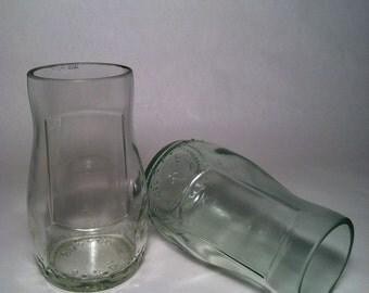 Lorina Lemonade Recycled Bottle Glasses - Set of 2