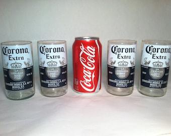 Corona Extra Recycled Glasss - Set of 4