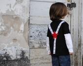 LIMITED EDITION future movie star film strip suspenders t-shirt