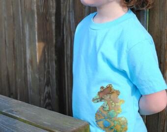 Sea Creatures kids t-shirt, seahorse, octopus or starfish