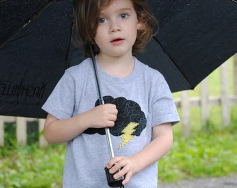 Rainy day cloud infant or toddler t shirt