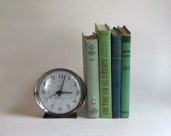 Vintage Books - Lot of 4 - Shades of Green - Home Decor
