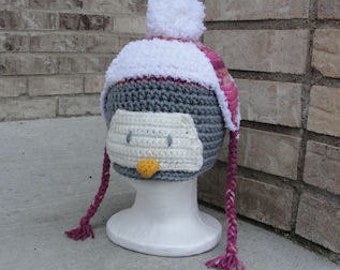 Percy the Penguin Crochet Pattern - INSTANT DOWNLOAD