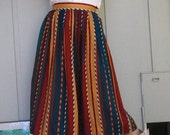 Pleated (mid-calf) Liz Claiborne Skirt