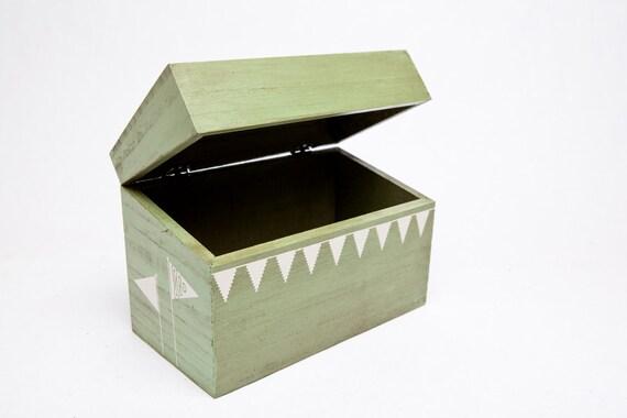 Green Pennant Recipe Box