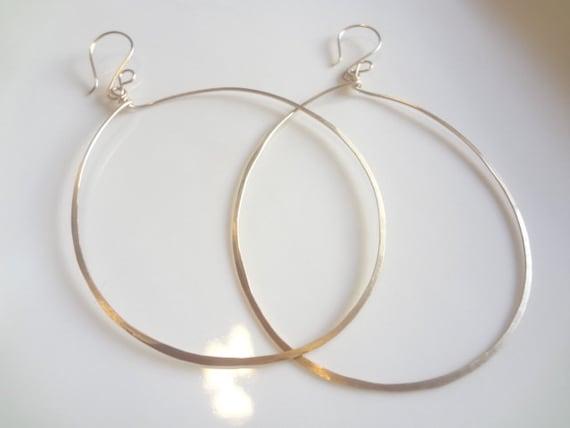 XLarge 14K Gold Filled Hoops Earrings, Minimalist, Trendy, Fashion, Custom, Handmade Jewelry, Jewellery