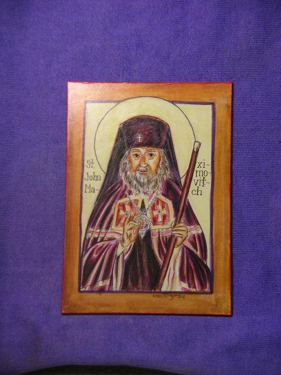 St. John Maximovitch, 5x7