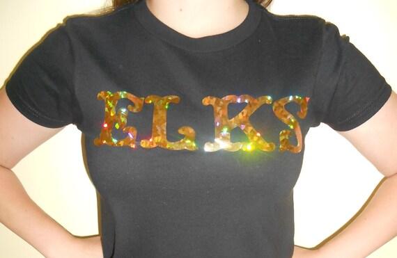 Custom Holographic Logo Junior Fit T-shirt