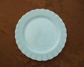 """Pyrex Blue Delphite 12"""" Platter"""
