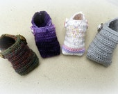 Baby Tommies Crochet Booties More Colors