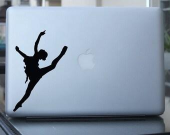 Ballet Dancer Decal - Ballerina Vinyl Sticker -  For Car, Window, Laptop, Wall