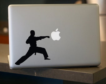 Kung Fu Punch Decal, For Car Windows, Laptops, Walls etc.