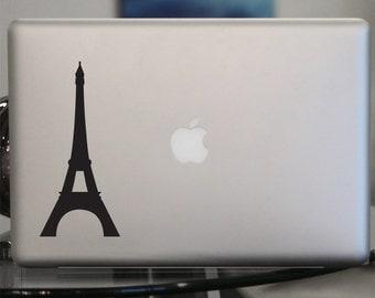 Eiffel Tower Vinyl Decal - For Car Windows,  Laptops, Walls etc.