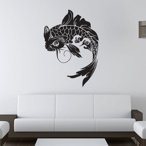 Unavailable listing on etsy for Koi wall art
