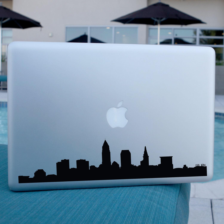 Cleveland Skyline Decal For Car Windows Laptops Walls - Custom vinyl decals cleveland ohio