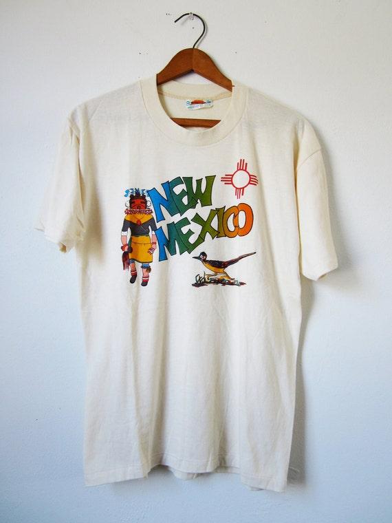Vintage Native American New Mexico Tshirt - Medium