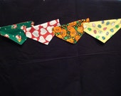 Dog Bandanas (extra large) - Reversible Holidays