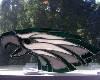 Philadelphia Eagles Stained Glass