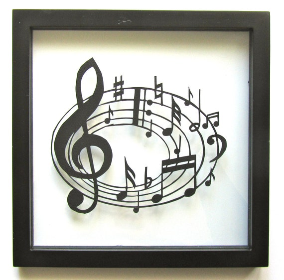 Music Notes For Music Lovers Wall And Home D Cor Silhouette