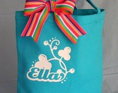 Clover Personalized Canvas Bag
