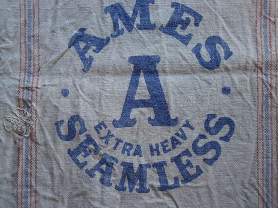 Variety 6 pack of Vintage Seed sacks