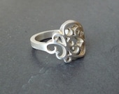 Renaissance, Sterling silver ring
