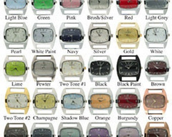 RETRO - ribbon bar watch face (large)
