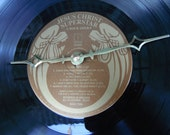Jesus Christ Superstar record 2 Vinyl Album Clock