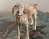 Lead Dog Figurine