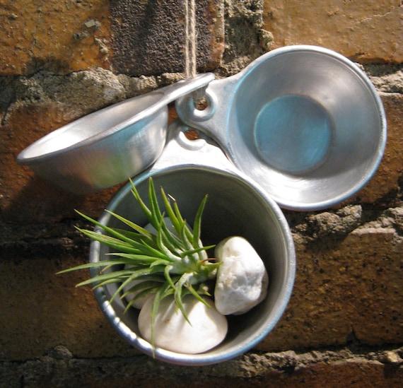 SALE Vintage Aluminum Measuring Cups