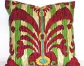 Decorative Pillow Cover - 18 x 18 Iman Print