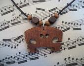 Violin Bridge Necklace