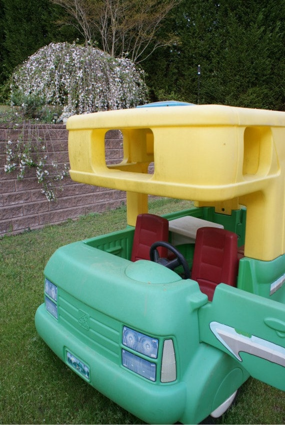 Vintage Little Tikes Step 2 Five Foot Rv By Fighousevintage