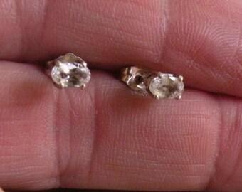 White Sapphire(Diamond like) Earrings