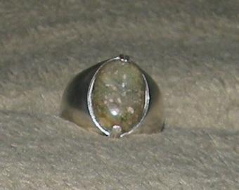 Mens  Jasper Ring