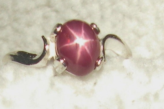Reserved for Tracy Ruby Six Star Ring