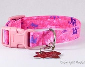 Pretty Princess Dog Collar Adjustable