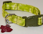 Bright Camo with Sheen - Dog Collar - Adjustable