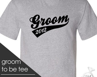 groom t-shirt - simple groom shirt for the groom to be