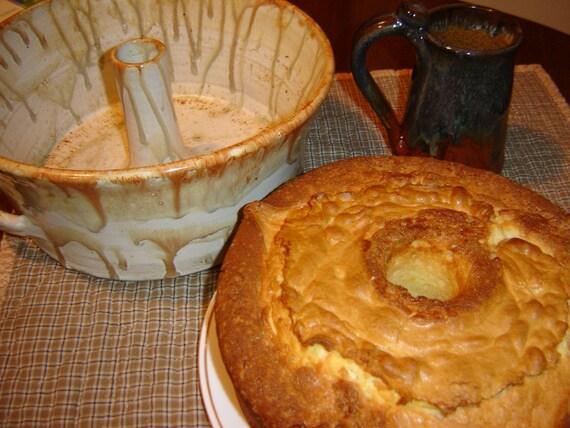 Smoky Mountain Cream Cheese Pound Cake-DIY Recipe-pdf Download