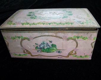 Vintage tin box