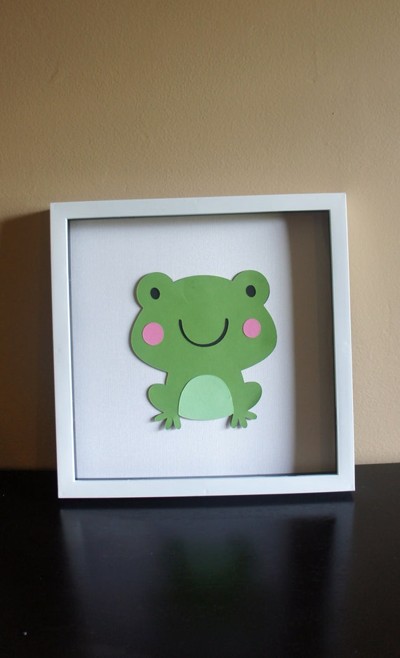 SALE Frog Wall Art-Nursery Decor