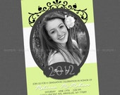 Elegant Graduation Invitation - Available In Any Color