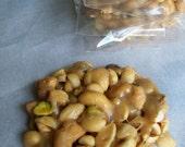 Nut Brittle (Peanuts, Cashews, Pistachios): A Pack of Six